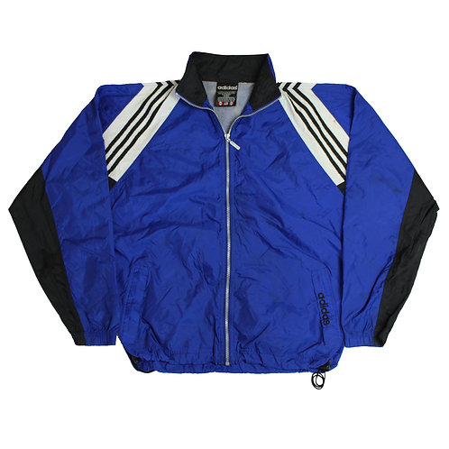 Adidas Blue Tracksuit Top