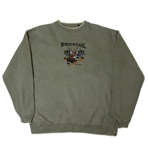 Vintage 'Whitetail' Brown Sweater