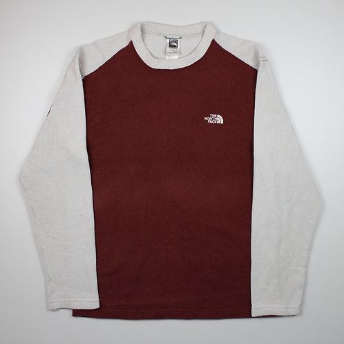 The North Face Maroon & Grey Sweater