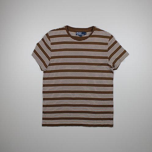 Ralph Lauren Brown Striped T-shirt