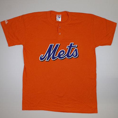 Majestic 'Mets' Orange T-shirt
