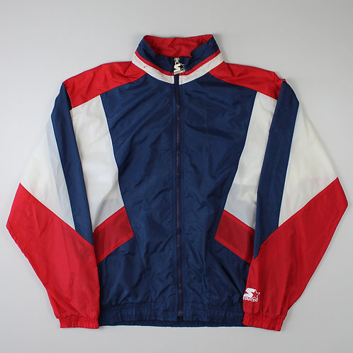 Starter Red, White & Navy Tracksuit Top