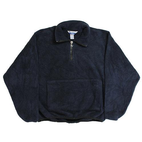 Champion Navy 1/4 Zip Fleece
