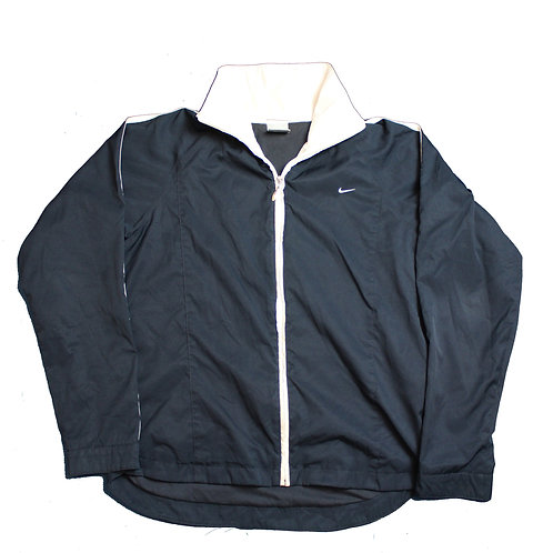 Nike Navy Tracksuit Top
