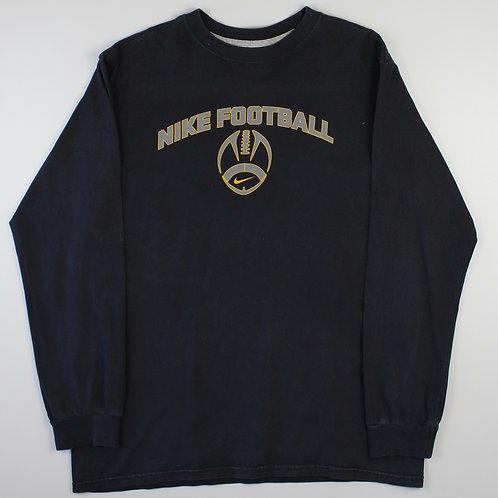 Nike Black 'Football' T-Shirt