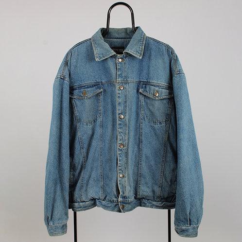 Vintage Esquire Fleece Lined Denim Jacket