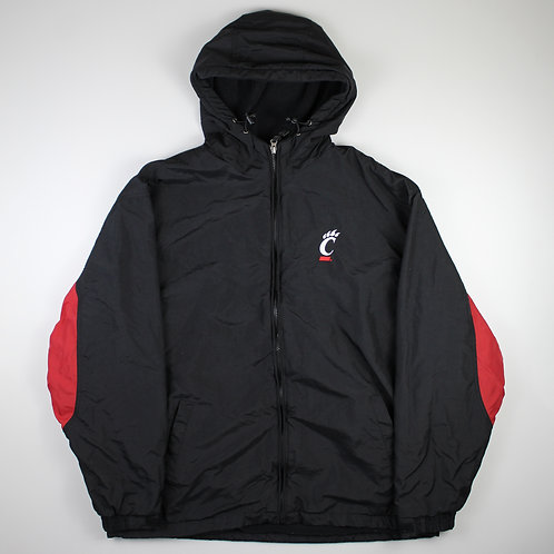 Vintage 'Cincinnati Bearcats' Black Coat