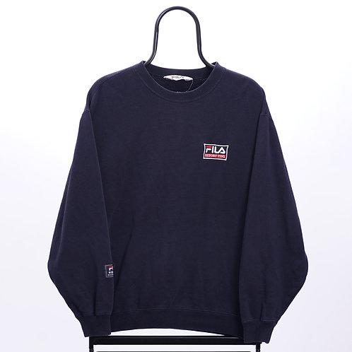Fila Vintage Navy Sweatshirt