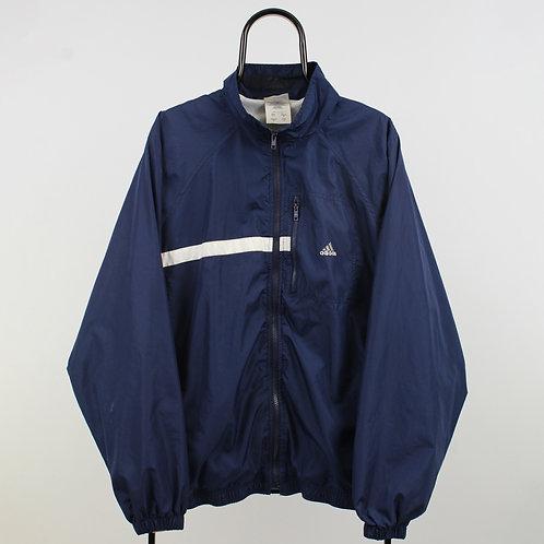 Adidas Vintage Navy Tracksuit Jacket