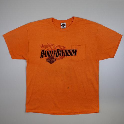 Harley Davidson Orange 'Wind River' T-Shirt