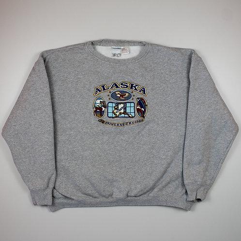 Vintage 'Alaska' Grey Sweater
