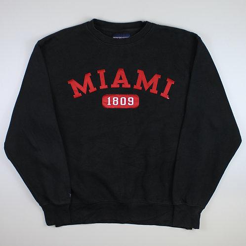 Vintage Black 'Miami' Sweatshirt