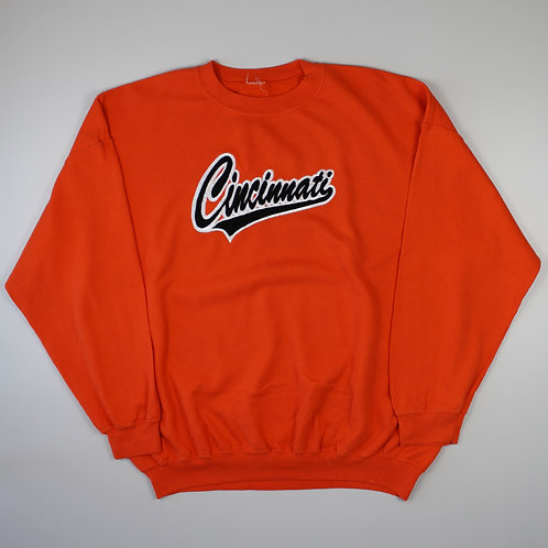 Vintage Cincinnati Orange Sweatshirt