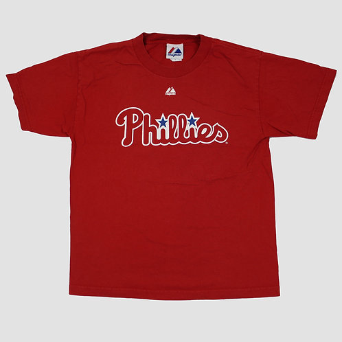 Majestic Red Phillies T-Shirt