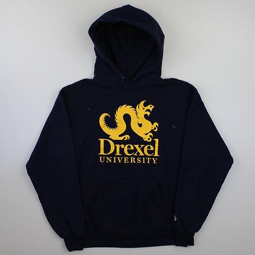 Champion Vintage Drexel Navy Hoodie