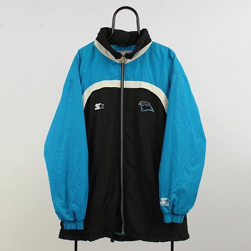 Starter NFL Pro Line Vintage Carolina Panthers Tracksuit Jacket