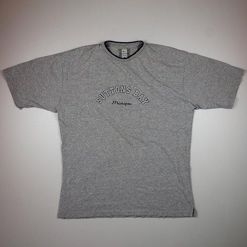 Vintage 'Suttons Bay Michigan' Grey T-shirt