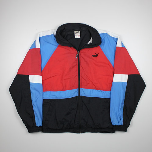 Puma Red, Blue & White Tracksuit Top