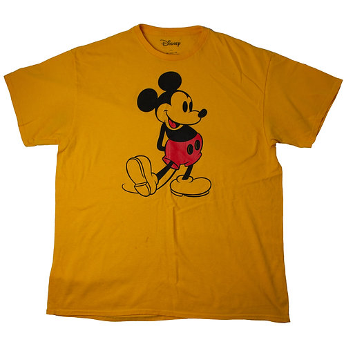Disney Mickey Mouse Yellow  T-shirt