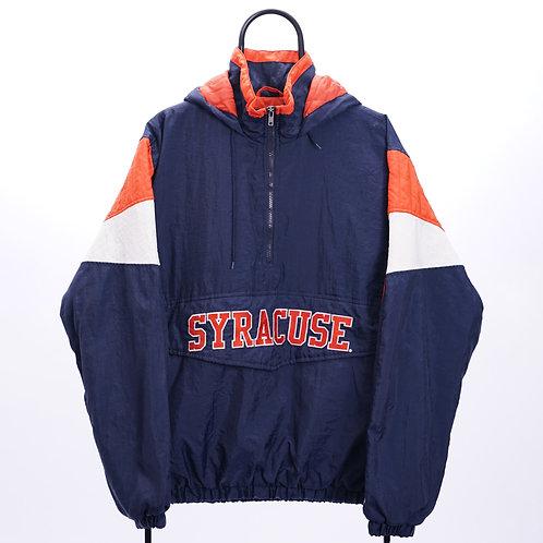 Majestic Vintage Navy Syracuse Orangemen NCAA Coat