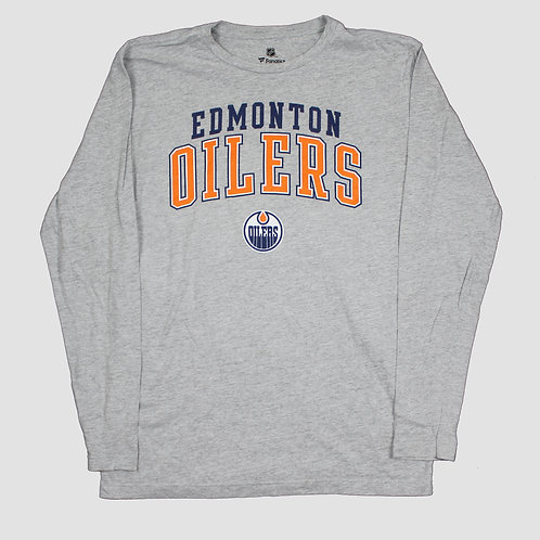 NHL 'Edmonton Oilers' Grey T-shirt