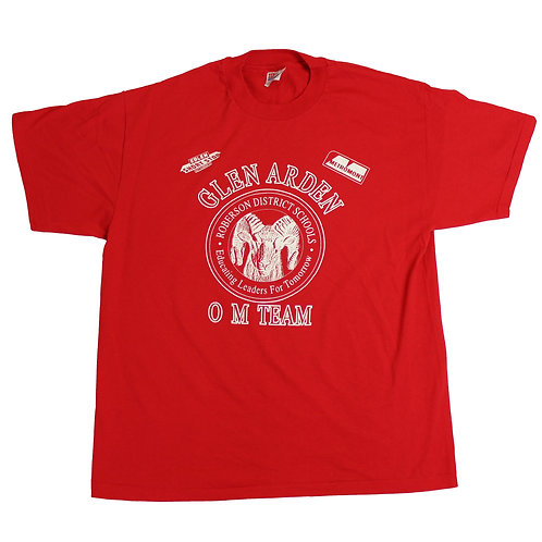 Vintage 'Glen Arden' Red T-shirt