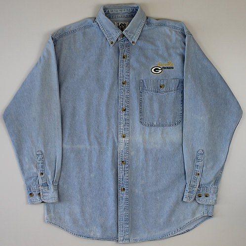 Lee Green Bay Packers Denim Shirt