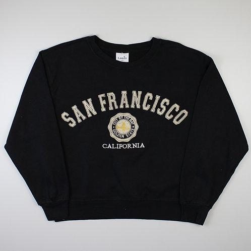 Vintage 'San Francisco' Black Sweatshirt