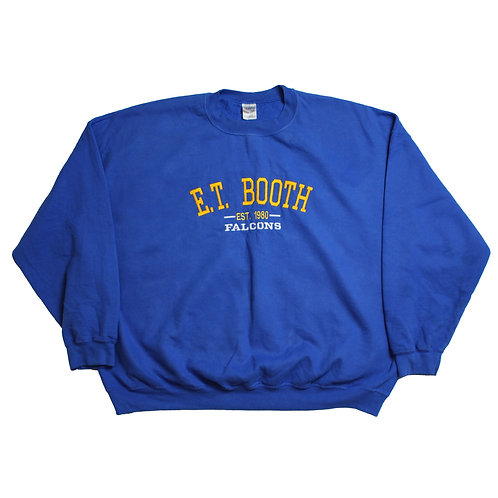 Blue E.T. Booth Sweater