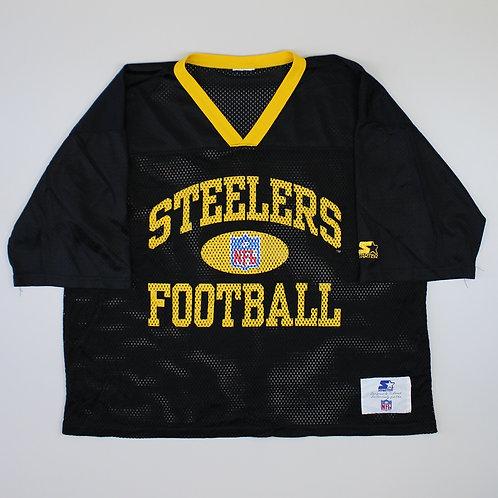 Starter Steelers Black Jersey