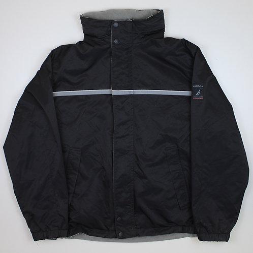 Nautica Reversible Fleeced Black Coat