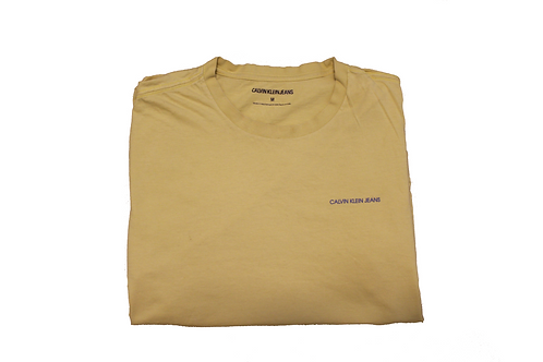 Calvin Klein Jeans Yellow T-shirt