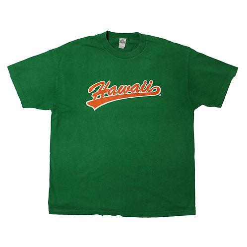 Vintage 'Hawaii' Green T-shirt