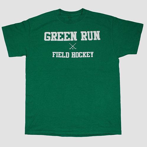 Vintage 'Green Run' Green T-shirt
