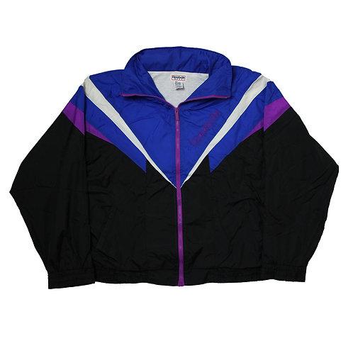 Reebok Blue, Purple & Black Tracksuit Top