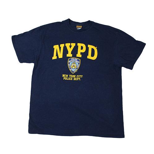 NYPD Navy T-shirt