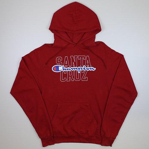 Champion 'Santa Cruz' Red Hoodie