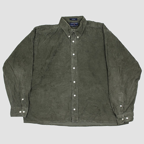 Hathaway Sport Khaki Corduroy Shirt