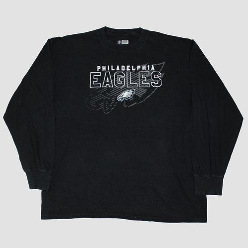 NFL Eagles Black T-shirt