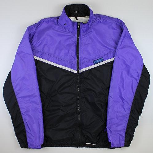 Vintage Purple & Black Tracksuit Top