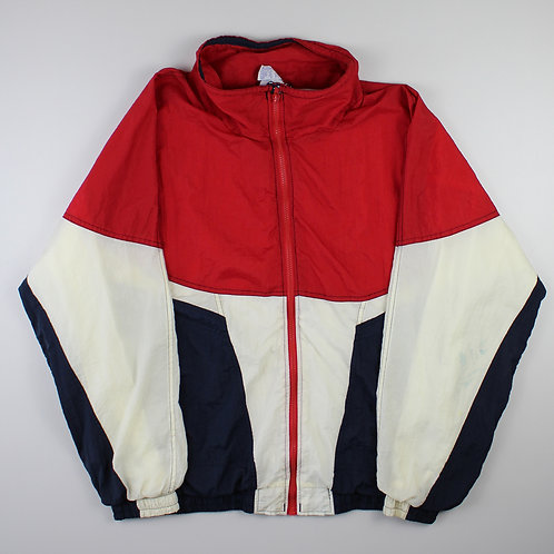 Vintage Red, Navy & White Tracksuit Top