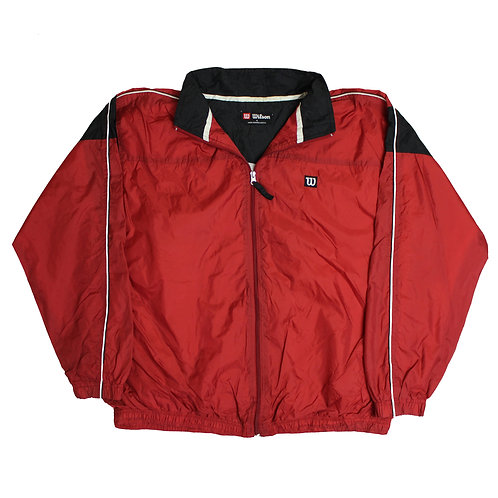 Wilson Red Tracksuit Top