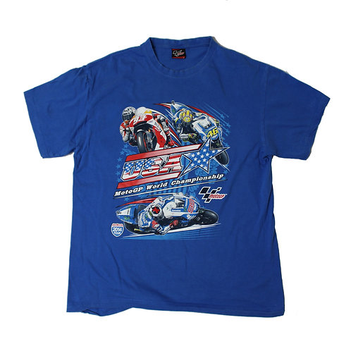 Vintage Moto GP Blue T-shirt