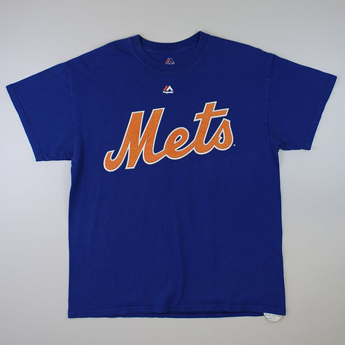 Majestic Blue 'Mets' T-Shirt