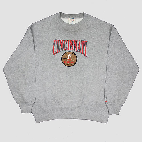 Vintage 'Cincinnati Bearcats' Grey Sweater