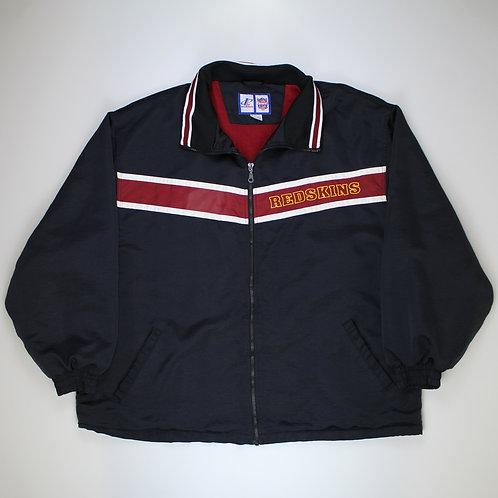 Logo Athletic Black 'Washington Redskins' Jacket