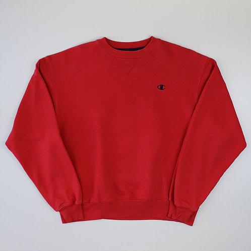 Champion Red Sweatshirt