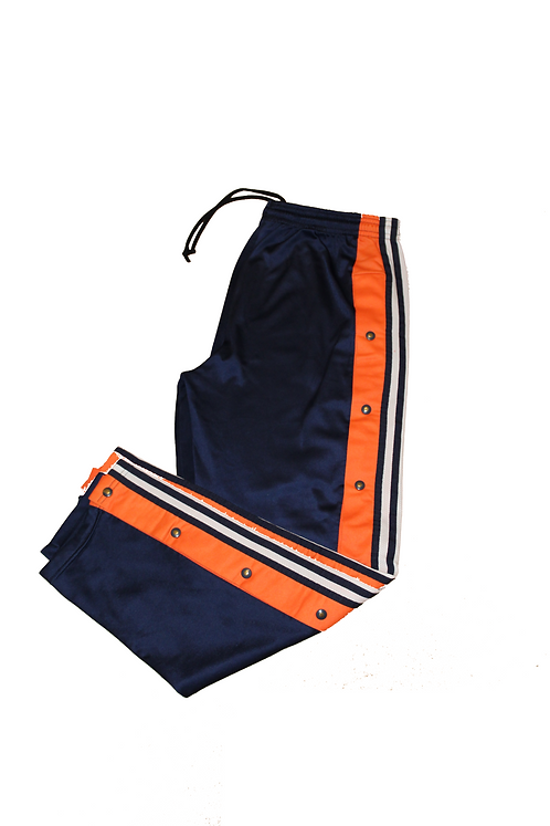 Adidas Navy & Orange Tracksuit Bottoms