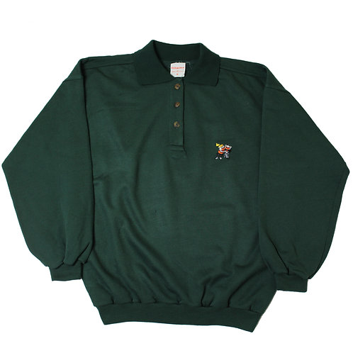 """Vintage """"Duracell' Green Sweater"""