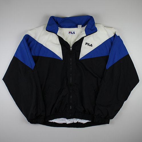 Fila Black Tracksuit Top